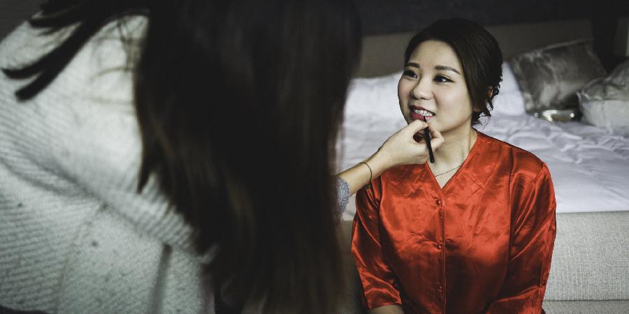 Make-up wedding Hong Kong