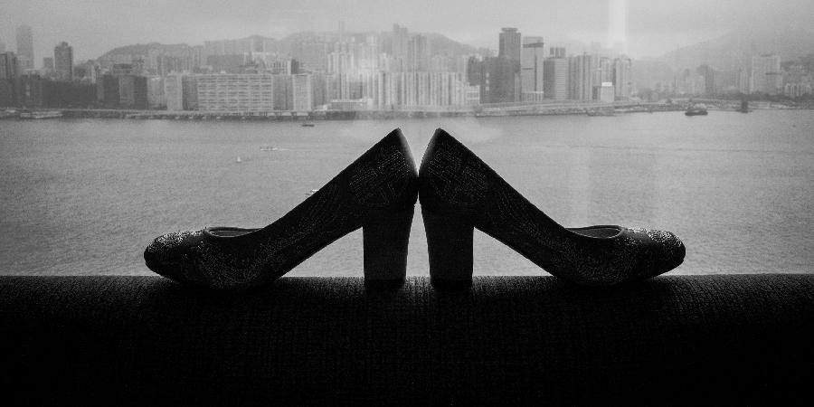 Bride shoes wedding Hong Kong