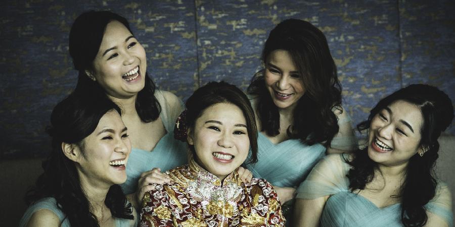 Bridesmaid wedding hong kong