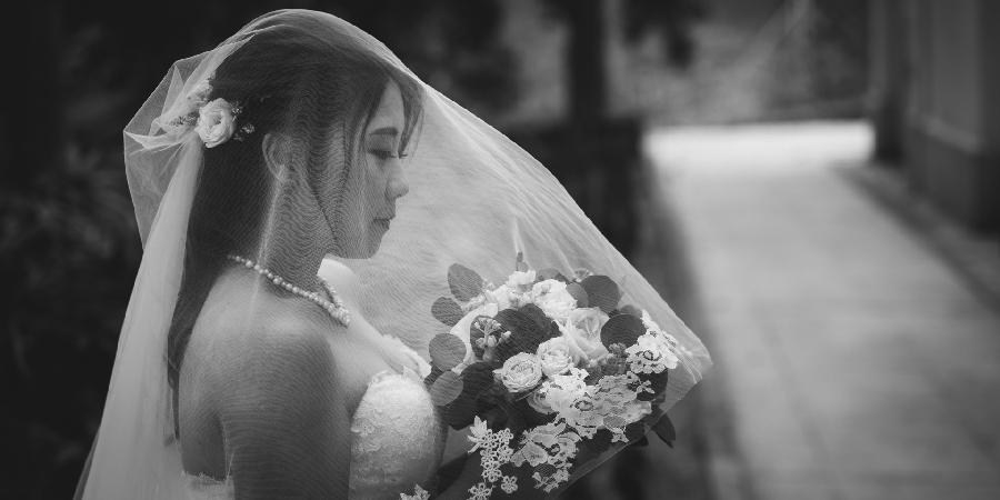 Portrait bride wedding hong kong