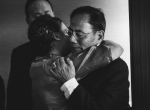 Hug Father and bride wedding Hong Kong