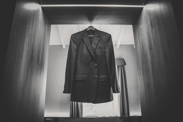The groom's suit