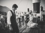 Dance on the boat during the big party