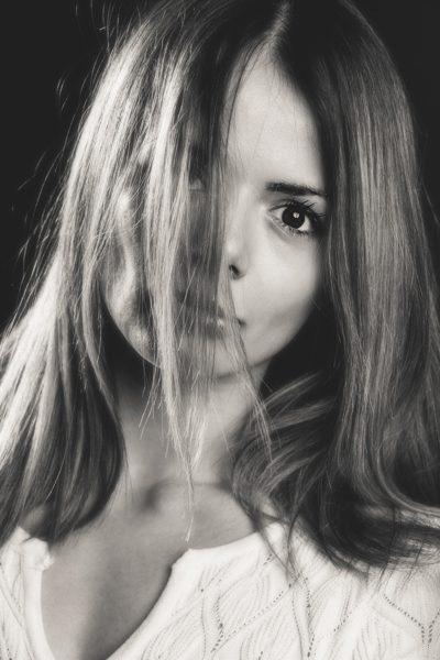 Ritratto in bianco e nero