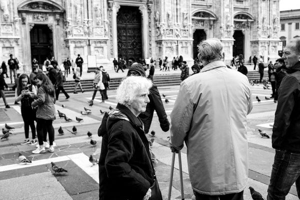 Street photographer milano