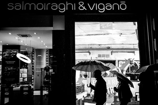 Street photographer Milan