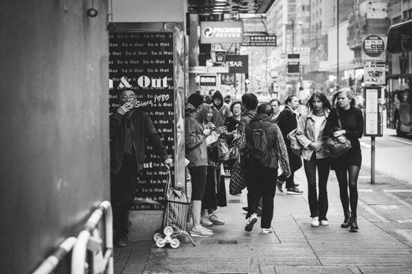 street photographer Hong Kong